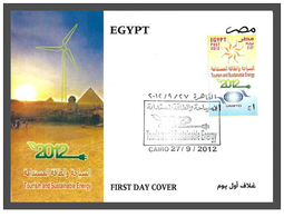 Egypt - 2012 - FDC - ( World Tourism Day - Tourism & Sustainable Energy ) - Sciences