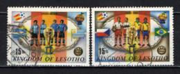 LESOTHO - 1982 - World Cup Soccer - Championships, 1930-1978 - USATI - Lesotho (1966-...)