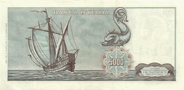 ITALY  P. 98b 5000 L 1968 UNC - [ 2] 1946-… : Républic