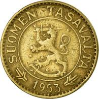 Monnaie, Finlande, 10 Markkaa, 1953, TB+, Aluminum-Bronze, KM:38 - Finlande