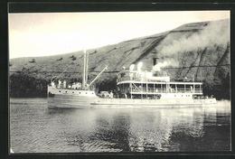 AK Binnenschiff SS Général Tombeur Auf Dem Kivu-See - Bateaux