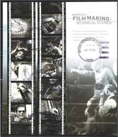VERINIGTE STAATEN ETATS UNIS USA 2003 M/S FILM MAKING 10V USED SC 3772sp YT F3454-3463 MI B3721-30 SG MS4265-74 - Blocs-feuillets