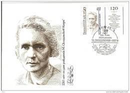 Russia USSR 1987 FDC Marie Curie Or Maria Sklodowska, Physicist Chemist Physics Chemistry Poland - 1923-1991 USSR