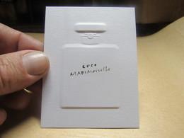 CARTE PARFUMEE  CHANEL COCO MADEMOISELLE - Cartes Parfumées