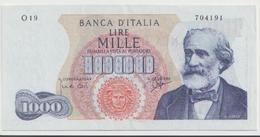 ITALY  P. 96b 1000 L 1963  VF - [ 2] 1946-… : République