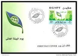 Egypt - 2005 - FDC - ( World Environment Day ) - Cartas