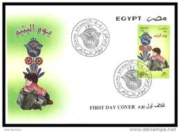 Egypt - 2005 - FDC - ( Orphan's Day ) - Cartas