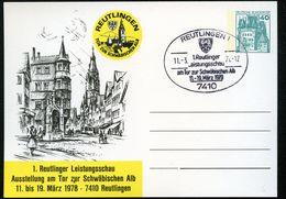 Bund PP100 D2/034 REUTLINGEN MARIENKIRCHE LINDENBRUNNEN Sost. 1978 - [7] Federal Republic