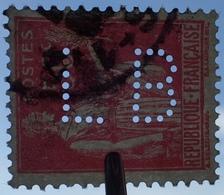 R1680/556 - 1932/1933 - TYPE PAIX - N°283 ☉ Timbres Perforés ☛ VOIR LES 5 CLICHES CI-DESSOUS - Francia