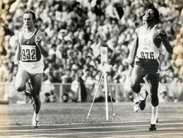 OLYMPIC GAMES MÜNCHEN JEUX OLYMPIQUES MUNICH 1972 SPRINT FINAL VALERI BORZOV CHUCK SMITH  ATHLETISME - Deportes