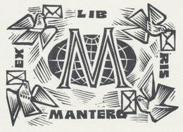 Ex Libris Mantero - Antal Fery (1908-1994) - Ex-libris