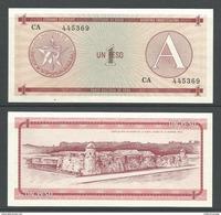 CUBA 1 PESO (A) 1985 UNC - Cuba