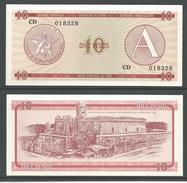 CUBA 10 PESOS (A) 1985 UNC!!! - Cuba