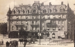 "Switzerland.. ..BERNE........"" Sulgenbach & Hotel Eiger "" Street Scene .....ca. 1900/1910 - BE Berne"