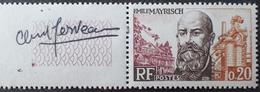 R1680/580 - 1963 - EMILE MAYRISCH - N°1385 NEUF** Avec BdF ►►► Signé Par L'artiste - Ungebraucht