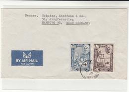 Hadhramaut / Aden / Airmail / Germany - Francobolli