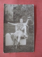 RPPC  To Id    Wierd Costume   Ref 3839 - Postcards