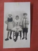 RPPC  To Id    Wierd Costume Odd Size 3 X 5 Studio PhotoBraintree  Ref 3839 - Postcards