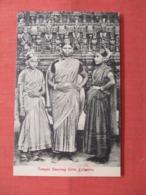 Temple Dancing Girls Colombo  Ref 3839 - Sri Lanka (Ceylon)