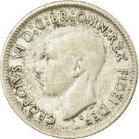 Monnaie, Australie, George VI, Sixpence, 1950, TTB, Argent, KM:45 - Moneda Pre-decimale (1910-1965)