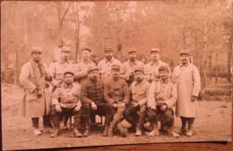 Carte Photo, Groupe De Soldats Du 209 ème Régiment D'Infanterie, écrite En 1915? 1925? - Regimenten