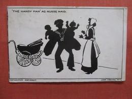 The Handy Man  As Nurse Maid    Ref 3839 - Silhouette - Scissor-type