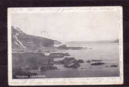 CARTE POSTALE 1909 PHARE DE YOUGHAL AYANT CIRCULEE - Phares