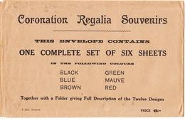 G.B. / 1937 Coronation Regalia Souvenirs - Unclassified