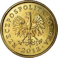 Monnaie, Pologne, 5 Groszy, 2012, Warsaw, TTB, Laiton, KM:278 - Polen