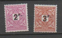 MAURITANIE            N°  YVERT  :   TAXE 25/26    NEUF SANS GOMME    ( SG  1/42 ) - Nuevos