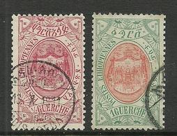 Etiopia ÄTHIOPIEN 1909 Michel 41 - 42 O - Ethiopia