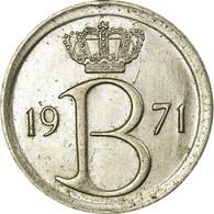 Monnaie, Belgique, 25 Centimes, 1971, Bruxelles, TB+, Copper-nickel, KM:153.1 - 1951-1993: Baudouin I