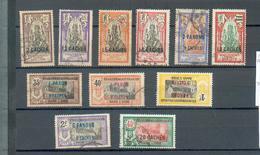INDE 316 - YT 59-60-66 à 69-72-73 (*)-74-79-81 ° Obli - Inde (1892-1954)