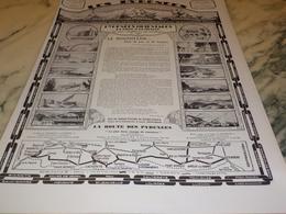 ANCIENNE  PUBLICITE LE ROUSSILLION LES PYRENEES ORIENTALES 1927 - Publicité