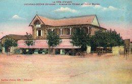 LACANAU OCEAN Avenue De L'océan Et L'Hôtel Marian - Autres Communes