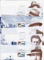 Les 6 Feuillets Bloc Souvenir N° 17 à 22,  Albert LONDRES , Neufs - Souvenir Blocks