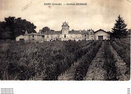 33 : Gironde :  Rions : Chateau Jourdan  . - France