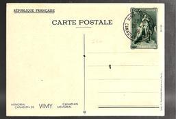 27201 - Entier  VIMY - Storia Postale