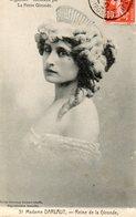 33. CPA BORDEAUX. Madame Darlaut, Reine De La Gironde, Mouche Sur La Joue. 1919. - Bordeaux