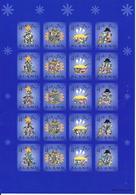 Aland 2002 Christmas - Sheet, MNH(**) - Aland