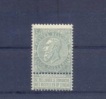 Nr. 63 * MH - 1893-1900 Schmaler Bart