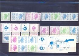 Boekje 10/11 Met Alle Combinaties Postgaaf ** Zeer Mooi MNH - Markenheftchen 1953-....