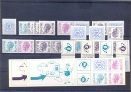 Boekje 12/13 Met Alle Combinaties Postgaaf ** Zeer Mooi MNH - Markenheftchen 1953-....