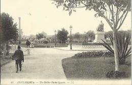 6823 CPA Alexandrie ( Alexandria ) - The Nubar Pasha Square - Alexandrie