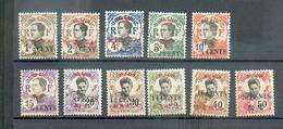 HOI 73 - YT 66 à 72 - 74 - 77  * - Hoi-Hao (1900-1922)