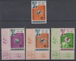 SOUTH ARABIA SEIYUN 1966 SPACE SATELLITE ITU INTERNATIONAL TELECOMMUNICATION UNION - Ruimtevaart