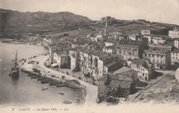 Rare Cpa Calvi La Basse Ville - Calvi