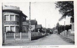Sainte-Geneviève-des-Bois. Avenue Galliéni. (Rare). - Sainte Genevieve Des Bois