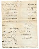 REPUBBLICA ROMANA - DA MERGO A MONTECAROTTO - 16. 4.1849. - ...-1850 Voorfilatelie