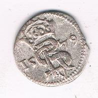 II DENARU 1579 COURTLAND LIVLAND (gothard Kettler) LETLAND /476/ - Latvia